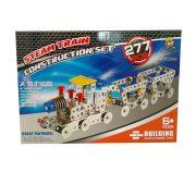 Építőjátékok gyerekeknek - Fából, Fémből, Műanyagból - Fém építőjáték mozdony 277db-os