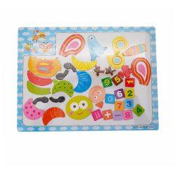 Gyerek Puzzle - Kirakósok - Mágnes tábla kirakós darabokkal