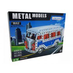 Építőjátékok gyerekeknek - Fából, Fémből, Műanyagból - Fém építőjáték Volkswagen kisbusz 337db-os