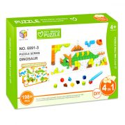 Gyerek Puzzle - Kirakósok - Kirakós játék dínós 198 db-os