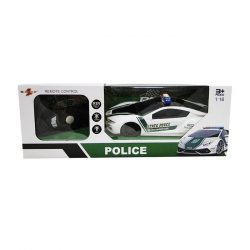 Távirányítós rendőrautó kormányos