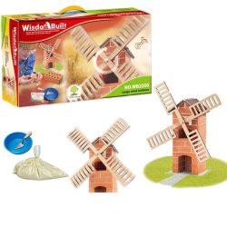 Építőjátékok gyerekeknek - Téglából építünk malmot
