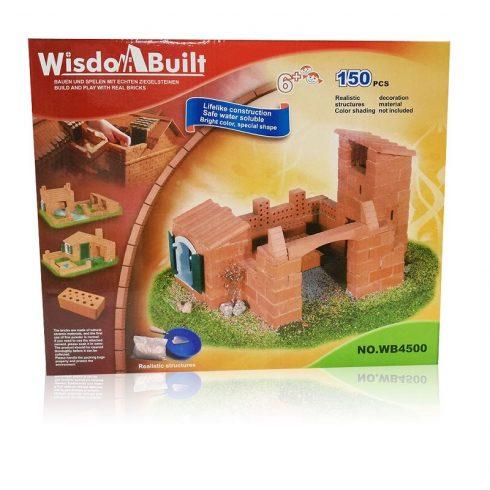 Építőjátékok gyerekeknek - Téglából építünk kőműves játék 150 db-os