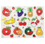 Fogantyús puzzle Ismerkedés a gyümölcsökkel