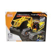 Építőjátékok gyerekeknek - Műanyagból - Építőjáték Mechanical Master 2 in 1 Robot és Lánctalpas Mark