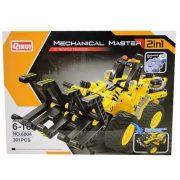 Építőjátékok gyerekeknek - Műanyagból - Építőjáték Mechanical Master 2 in 1 Kvad és Villás markoló