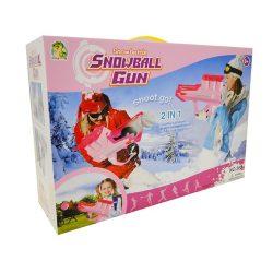 Kerti játékok - Hógolyó és labda kilövő 2 in 1 lányoknak