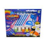 3D-s rajzoló Liquid Mud Pufi festék, formázó és pisztoly