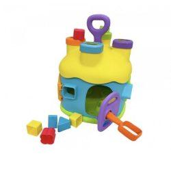 Fejlesztő játékok - Készségfejlesztő formabedobó ház