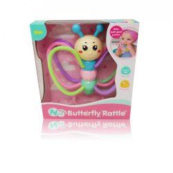 Csörgők kisbabáknak - Csörgő pillangó