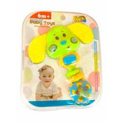 Csörgők kisbabáknak - Csörgő funkciós állatos babáknak