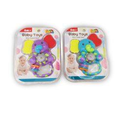 Csörgők kisbabáknak - Bébi játék csörgős, funkciós, rágóka