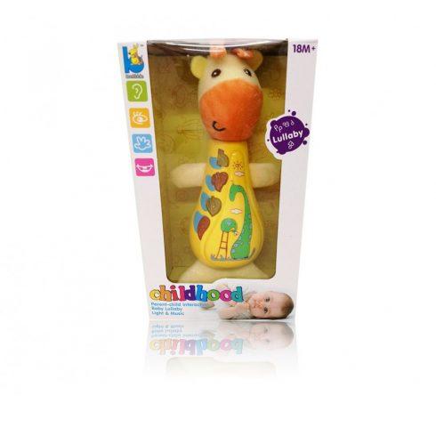 Fejlesztő játékok - Bébi játékok - Plüss zsiráf babáknak - Funkciós