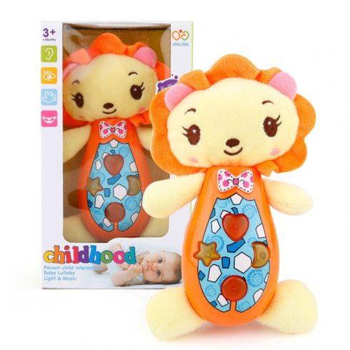 Fejlesztő játékok - Bébi játékok - Funkciós plüss oroszlán babáknak
