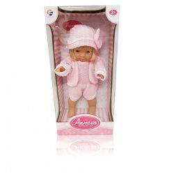 Műanyag babák - Játékbaba 37 cm