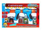 Fiús játékok - Puska szivacs tölténnyel játék konzervdobozokkal