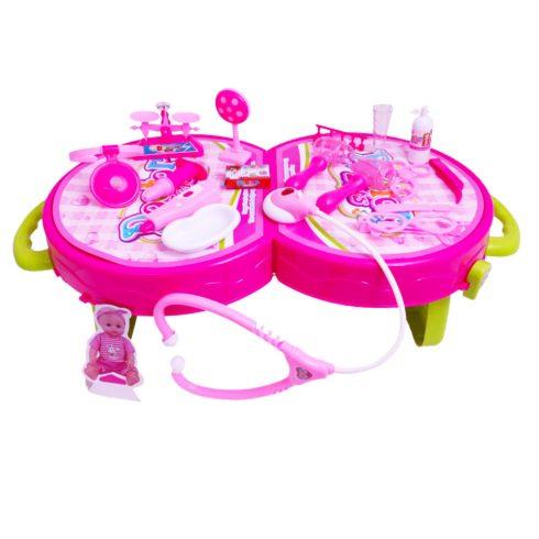 Orvosos játékok - Játék Doktor szett bőröndben