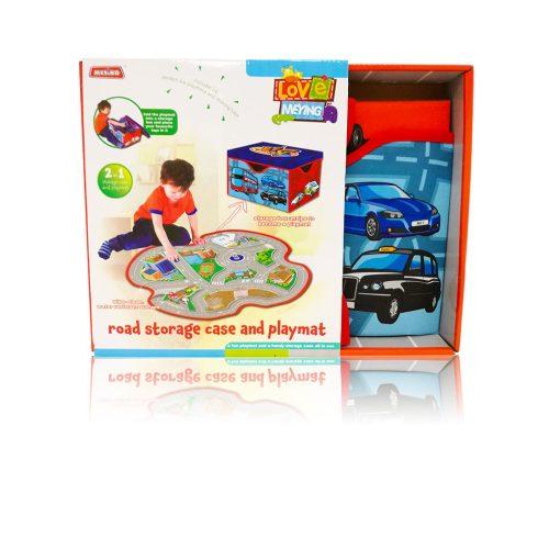 Autópályák - Játék tároló doboz átalakítható autópályává