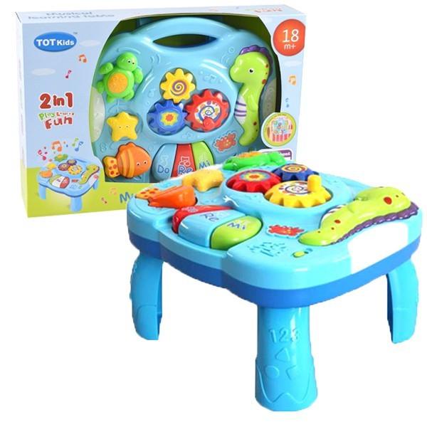 Interaktív asztal babáknak
