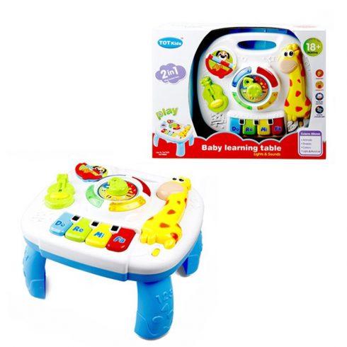 Fejlesztő játékok - Bébi játékok - Zenélő, világító foglalkoztató asztal kicsiknek