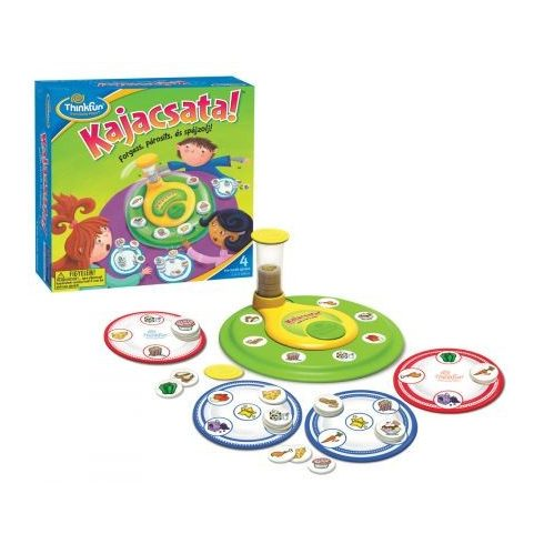 Társasjátékok gyerekeknek - Kajacsata Thinkfun