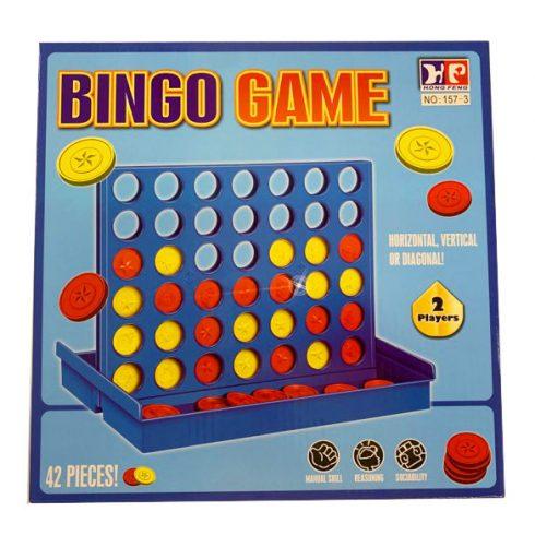 Társasjátékok - Negyedelő - potyogós amőba logikai társasjáték