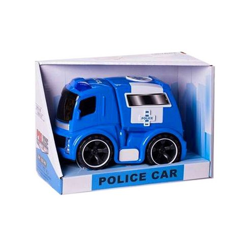Műanyag járművek - Police car Játék Rendőrautó