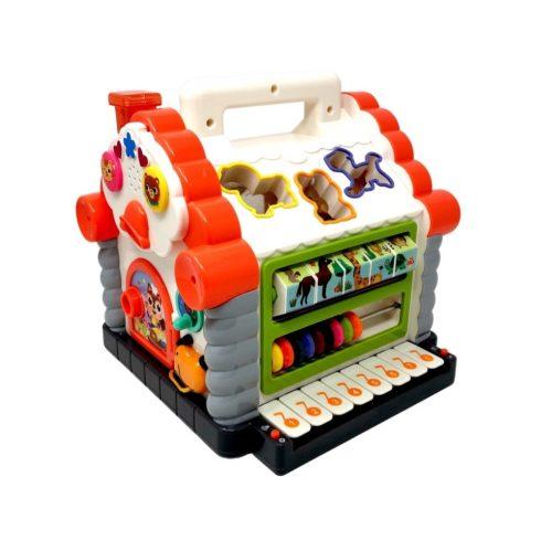 Fejlesztő játékok babáknak - Házikó Készségfejlesztő baba játék Hola