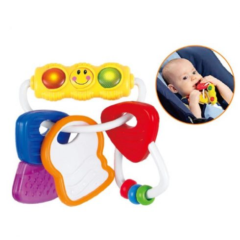Rágókák babáknak - Kulcsok rágóka baba játék Hola