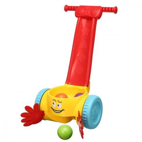 Fejlesztő játékok babáknak - Járás ösztönző tologatós labdás baba játék