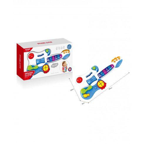 Fejlesztő játékok babáknak - Dynamic Guitar baba játék gitár Huanger