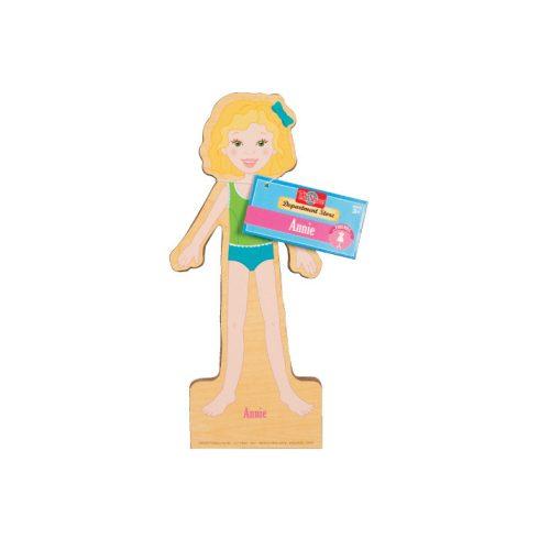 Öltöztetős játékok - Fa mágneses öltöztethető baba Annie TS-Shure