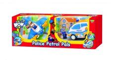 WOW Toys - combo pack rendőrség