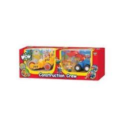 Játék járművek - WOW Toys törhetetlen játékok - Építkezés duopack
