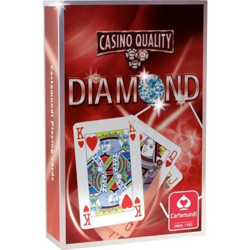Kártya játékok - Diamond Bridge kártya piros, szimpla - Cartamundi