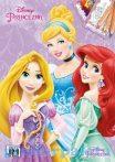 Kreatív hobby - Kifestők - Disney hercegnők színezőfüzet A4