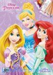 Kreatív hobby - Kifestők - Disney Hercegnők A5 színezőfüzet