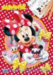 Kreatív hobby - Kifestők - Minnie egér színezőfüzet A4