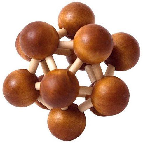 Készségfejlesztő - Logikai - Woodyland Brain teaser molecula