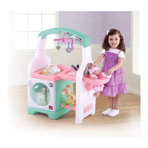 Szerepjátékok - Lányoknak - Babagondozó állvány - Játék pelenkázó - Mosogatógép