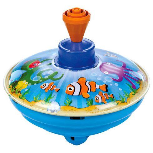 Interaktív játékok gyerekeknek - Búgócsiga halas 13cm