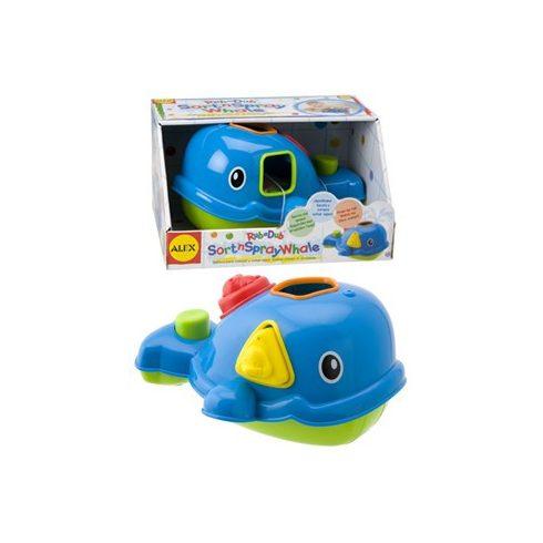ALEX játékos bálna - Fürdőszobai Játékok