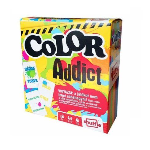 Kártya játékok - Color Addict - Legyél Te is színfüggő kártyajáték - Cartamundi