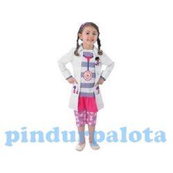 Jelmezek - Dr Plüssi jelmez lányoknak S méret 98-104cm
