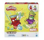Gyurmák - Play-Doh Marvel: Pókember és Zöld Manó tégelyfej szett