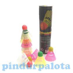 Kültéri játékok - Sport eszközök gyerekek számára - Tollaslabda színes, 10 db-os