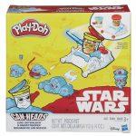 Gyurmák - Play-Doh Star Wars: Luke Skywalker és Snowtrooper tégelyfej szett