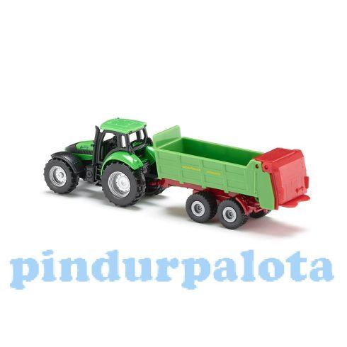 Járművek - Játék traktor vontatmánnyal siku 1673
