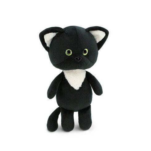 Plüss fekete cicák - Csillogó szemű plüss cica Mini Twini Orange Toys