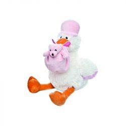 Plüss gólya - Lány babát váróknak